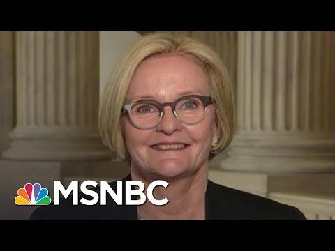 Senator McCaskill: Democrats 'Have To Stay United'   Andrea Mitchell   MSNBC