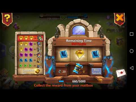 Castle Clash: Rolling 40 Thunder God Hammer 2018