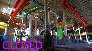Indoor Abandoned Water park - Waterslide Graveyard!