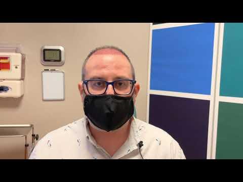 Dallas Hair Transplant Testimonial One Day Out
