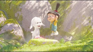 Despicable me 3  - Agnes & Unicorn Goat  lovable scene -