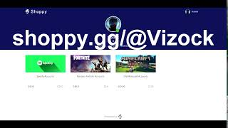 Fortnite barato, Spotify, Cuentas de Minecraft: https://shoppy.gg/@Vizock