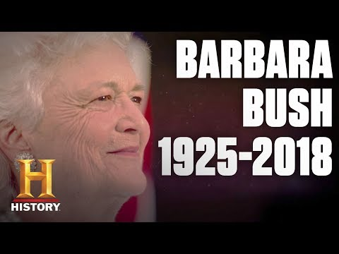 Barbara Bush: In Memoriam  (1925-2018) - First Lady and First Mom | History