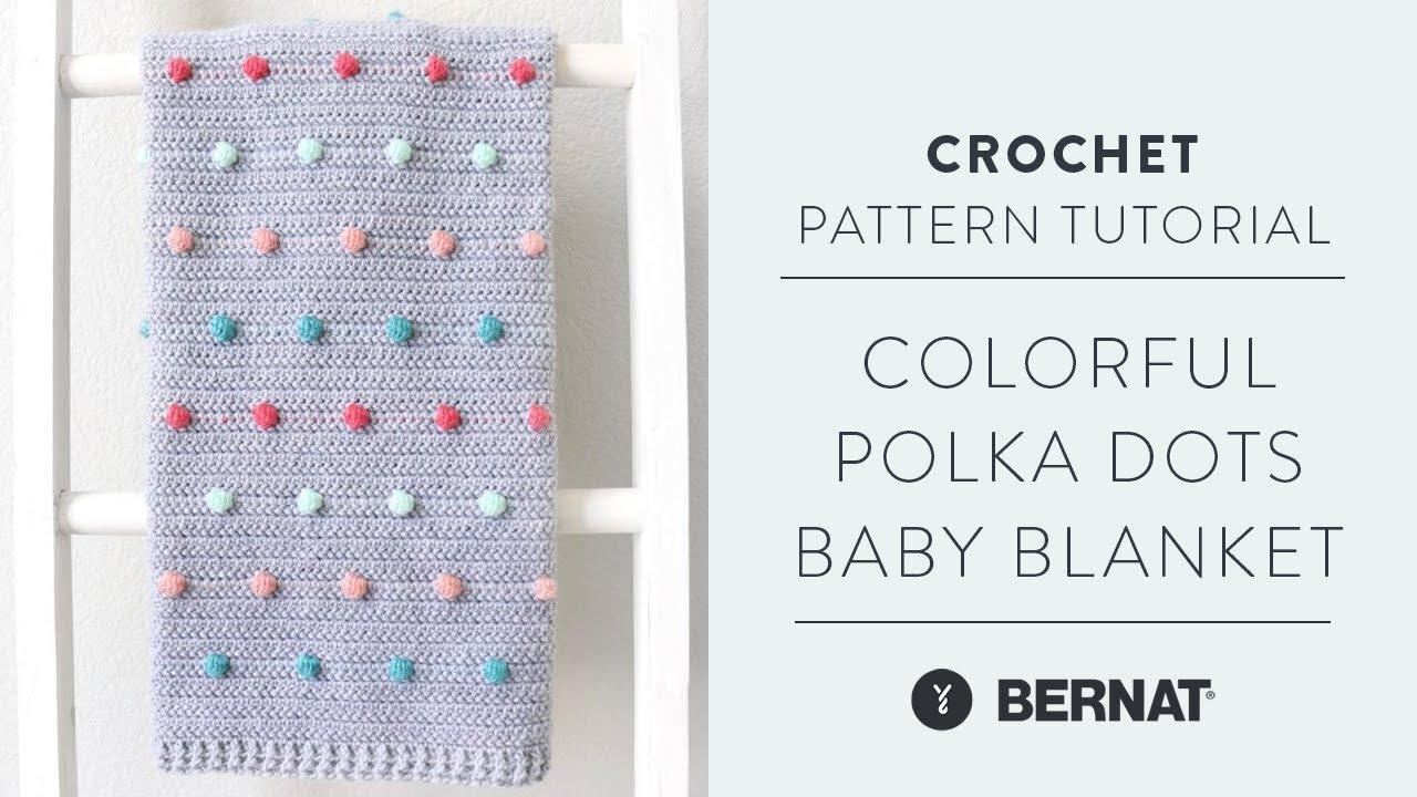 Polka Dot Baby Quilt