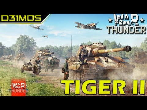 War Thunder! Tiger 2 e Polêmica!