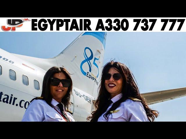 Piloting the EGYPTAIR 737 777 A330 | Cockpit TRAILER