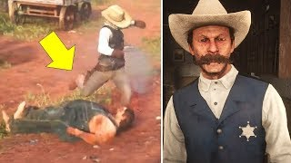 What The Sheriff Does If You Bring Him The Incest Brother - Red Dead Redemption 2