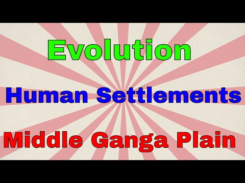 Evolution of Human Settlement in Middle Ganga Plain