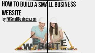 4 Easy Steps To Make A Small Business Website(In this video we will show you how to create a successful small business website. By the end of this video you will know the option available to you when it ..., 2013-08-15T17:48:37.000Z)