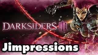 Darksiders III - DarkSoulsSiders (Jimpressions) (Video Game Video Review)