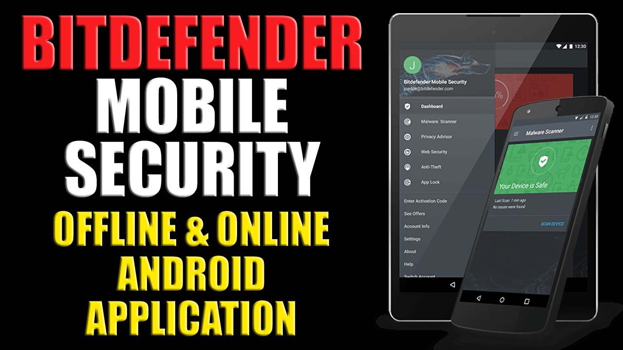 Bitdefender code for android
