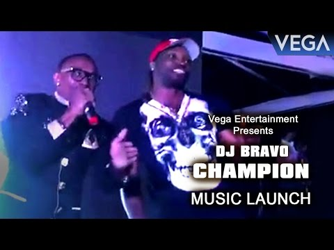 DJ Bravo Champion Video Song Launch : Dwayne...