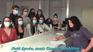 Les jeunes du Lycée des Chaumes ont besoin de votre soutien !