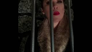 Free slave Femdom thumbs caged