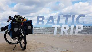 Велопутешествие по Прибалтике. Baltic trip. Тизер