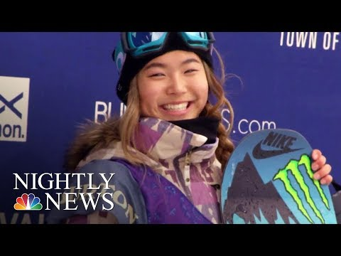 How Chloe Kim Became America's Snowboarding Superstar | NBC Nightly News