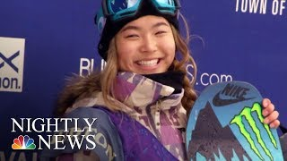 How Chloe Kim Became America's Snowboarding Superstar | NBC Nightly News