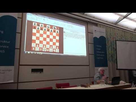 Chess Grandmaster Jan Timman - Lecture on Bent Larsen - July 2017