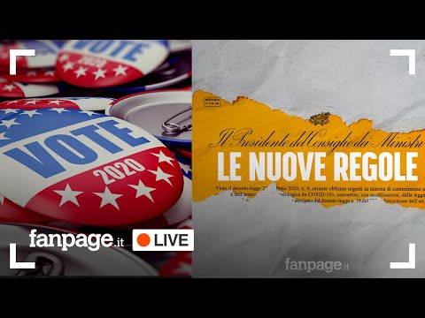 Elezioni USA 2020, nuovo DPCM, zone rosse e arancioni: tutte le notizie del giorno in diretta