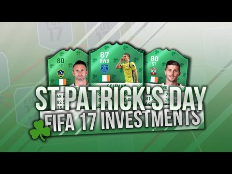 FIFA17 *NEW* ST PATRICKS DAY SBC INVESTMENTS! *INSANE* PROFIT FROM THESE INVESTMENTS!