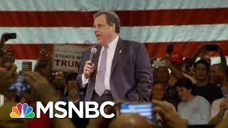 Former Governor Chris Christie Under Consideration For Attorney General Post | Craig Melvin | MSNBC