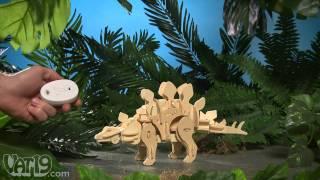 R/c Diy Wooden Dinosaurs Demo