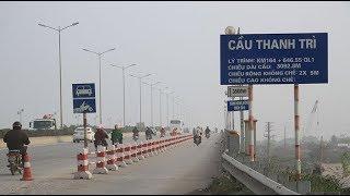 Đường Giải Phóng đi cầu Thanh Trì Hà Nội   Drive Car go to Thanh Tri Bridge   Ha Noi Viet Nam
