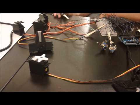 Arber's Robotic Arm - Milestone 2