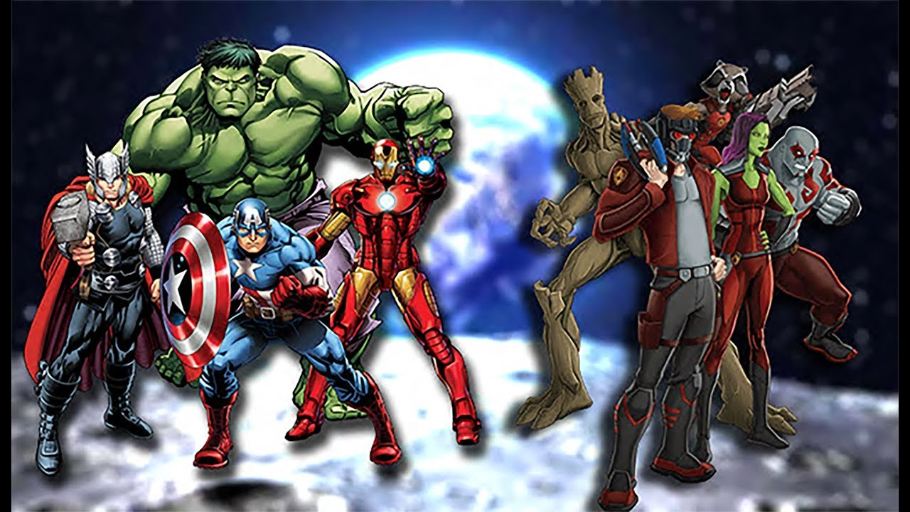 GUARDIAN OF THE GALAXY meet The AVENGERS  GUARDIAN OF THE GALAXY vs THANOS part 3 - YouTube