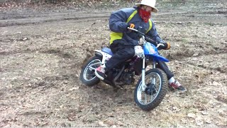Yamaha PW80 2-Stroke Goon Rippin & Long Wheelies