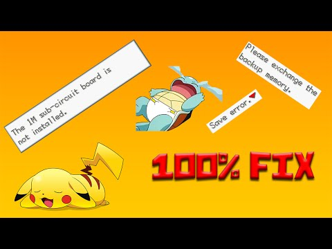 How to fix all Save errors for GBA Emulator without having