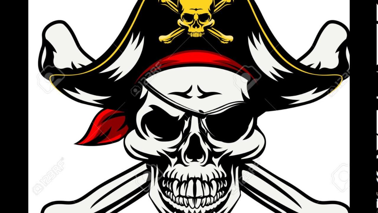 calavera de piratas  YouTube