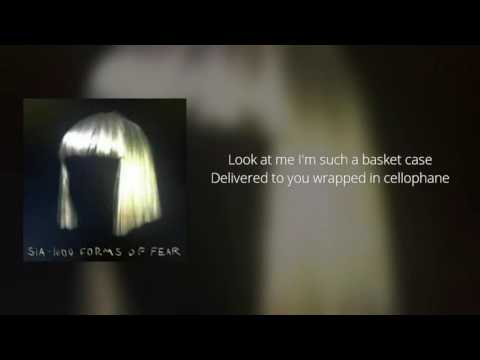 Sia - Cellophane (Official Instrumental + Lyrics on Screen / Karaoke)