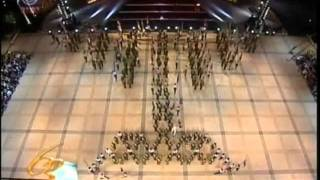 ISRAEL MUSIC HISTORY  IDF Band Flags Parade  63rd Independnce Day 9/5/11 חג העצמאות