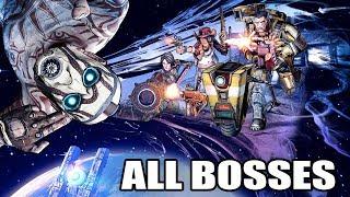 Borderlands: The Pre-Sequel - All Bosses (With Cutscenes) 1080p60 PC HD