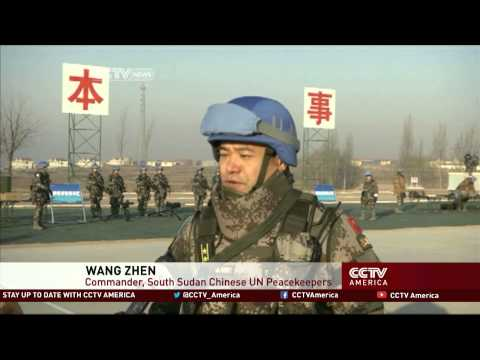 China To Send 700 Troops To South Sudan