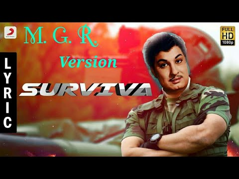 Surviva Title Song | M.G.R Remix Version | Anirudh | Yogi b Babu |