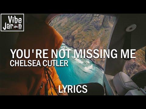 Chelsea Cutler - You're Not Missing Me (Lyrics)