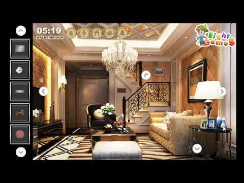 Luxury Duplex House Escape WalkThrough EightGames - YouTube