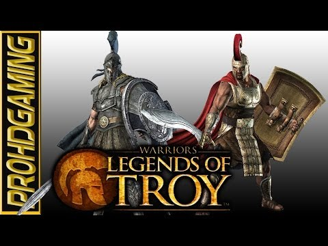 Achilles vs Hector  Warriors: Legends of Troy  Expert Difficulty HD