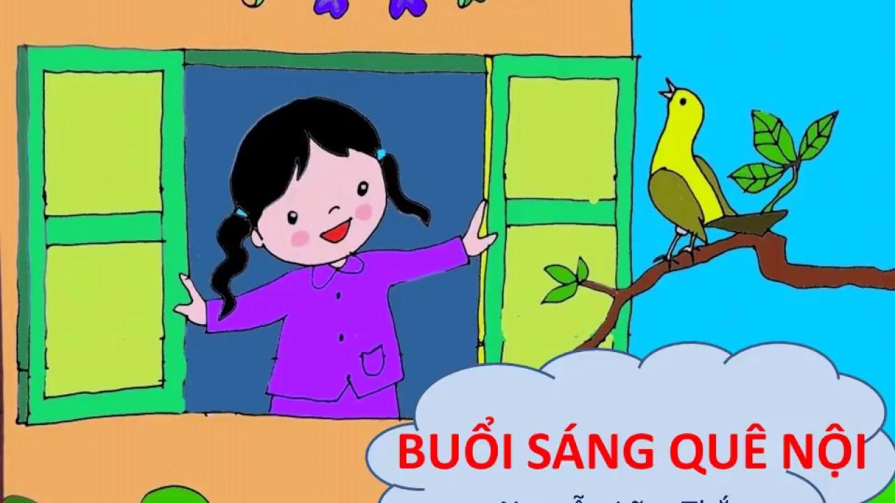 Bài thơ:  BUỔI SÁNG QUÊ NỘI (Nguyễn Lãm Thắng)