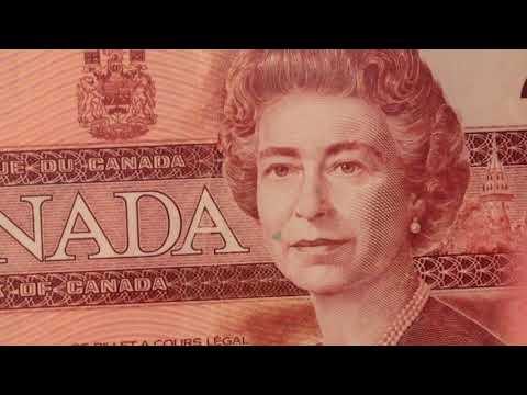1986-1991 Canada 2 Dollar Bank Note