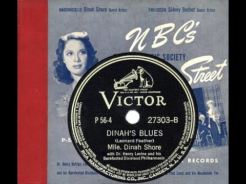 1940 NBC's Chamber Music Society: 04 Dinah's Blues (Dinah Shore) mp3