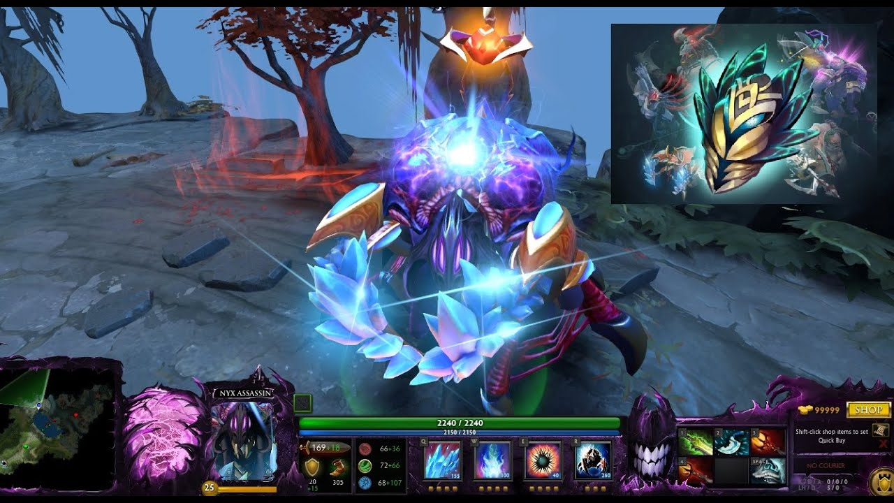 Dota 2 Immortal 12: Dota 2 Nyx Assassin Immortal Latticean Shards With Dagon