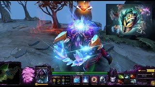 Dota 2 Nyx Assassin Immortal latticean shards with Dagon/Infused Cursed Zealot Carapace