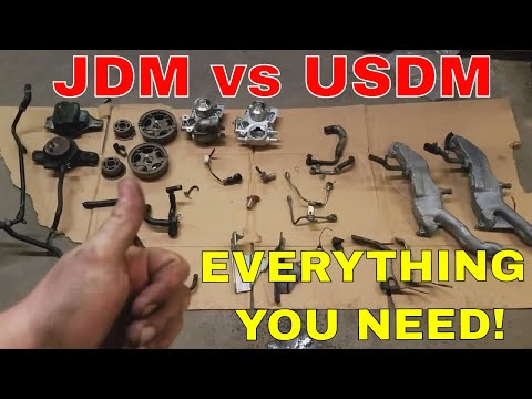JDM Ej205 vs USDM Ej205 – EVERYTHING YOU NEED TO KNOW – JDM EJ20 Engine Swap