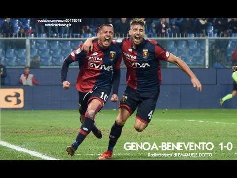 GENOA-BENEVENTO 1-0 - Radiocronaca di Emanuele Dotto (23/12/2017) da Rai Radio 1