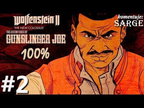 Zagrajmy w Wolfenstein 2: The Adventures of Gunslinger Joe DLC [60 fps] odc. 2 - Moc Panzerhunda