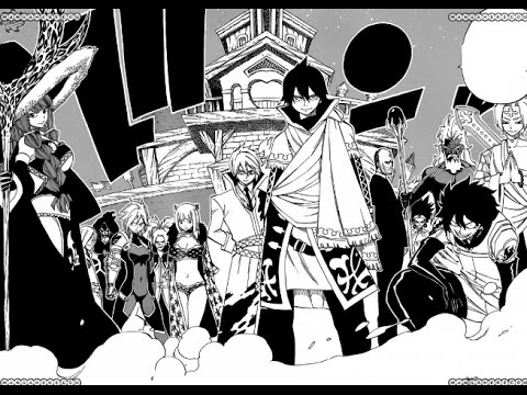 Fairy Tail Manga Ch. 494 Review Zeref and his Spriggan Squad