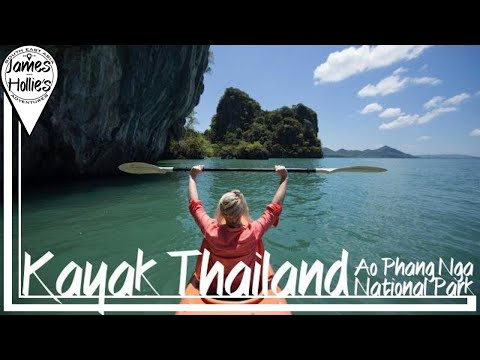 INCREDIBLE KAYAKING IN THAILAND - Ao Phang Nga National Park - DAY 1